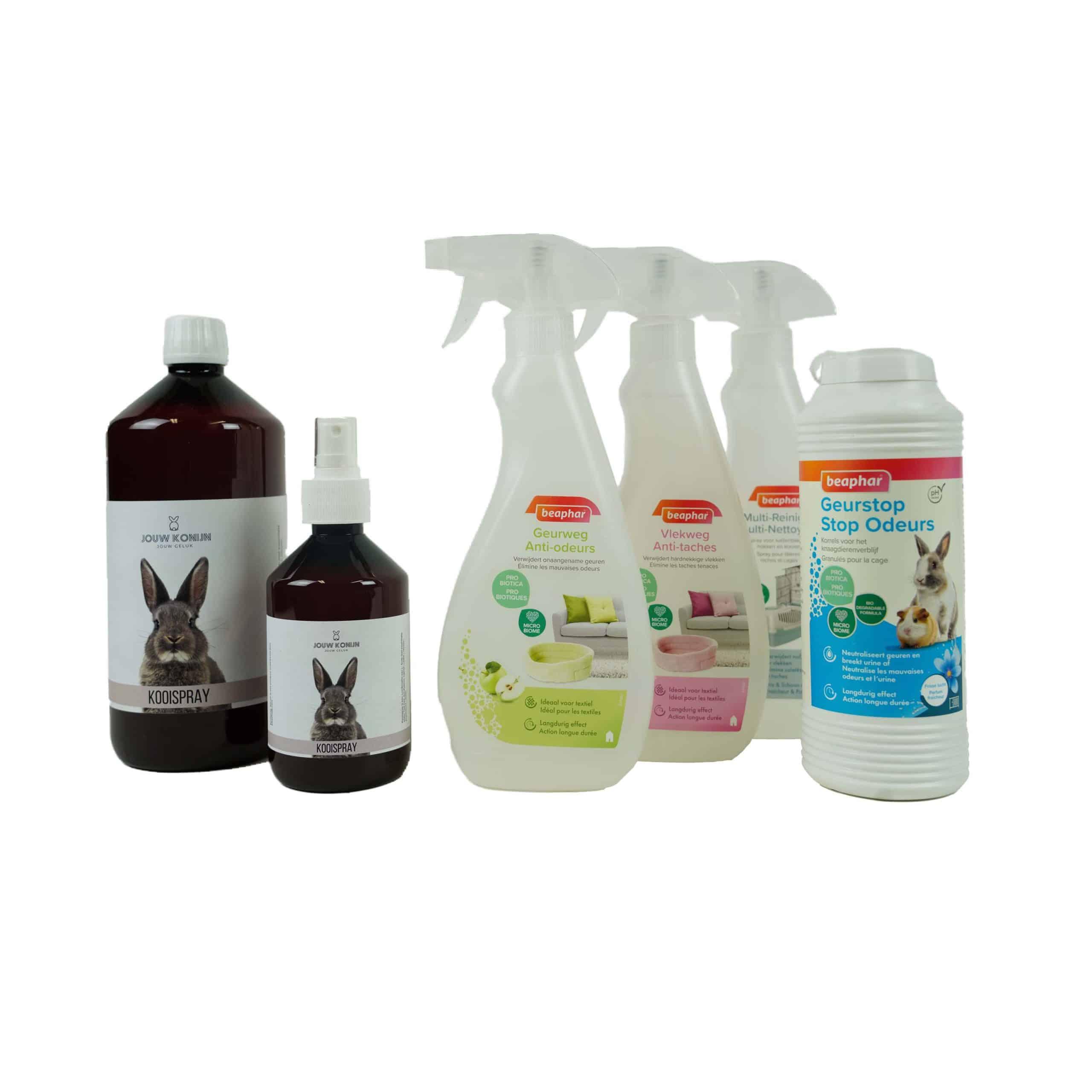 clean and care pakket jouw konijn